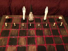 Most of Death's Chess Set