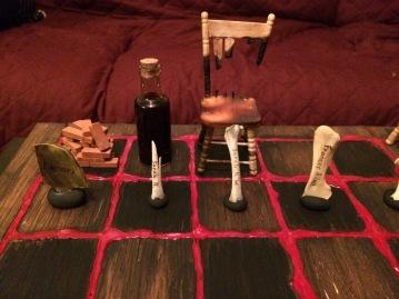 Poe's Chess Set Pieces