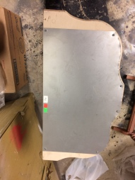 Steel Sheet Attached