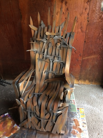 Finished Throne