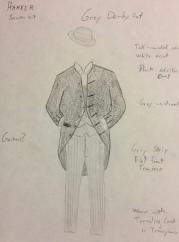 Harker Costume Rendering