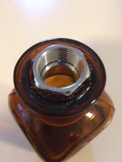 Amber Bottle Fitting