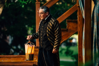 "Montana Shakespeare in the Parks performs ""Othello"" on Wednesday, June 13, 2018, at the Montana State University Duck Pond, in Bozeman, Mont. MSU Photo by Adrian Sanchez-Gonzalez"