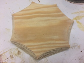 Shaped Plywood Bottom