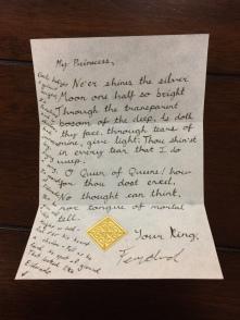 Inside Letter