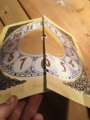 Clock Face Print
