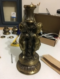 Found Base of Lamp