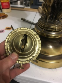 Burner Modification to fit Lamp/Fixture