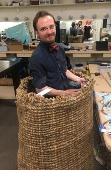 Nova making a Giant Basket for MSIP '19