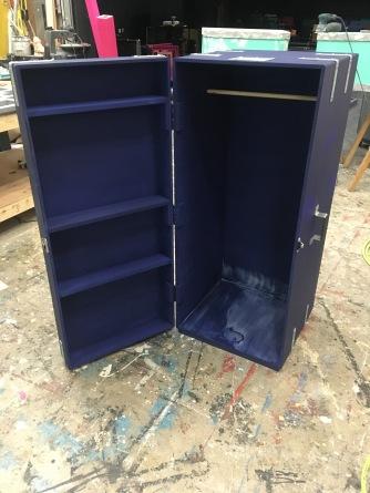 Trunk Interior w/ Varnish Drying